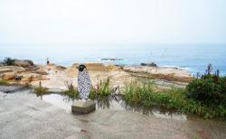 【千畳敷】雄大な岩畳を鑑賞しながら潮風に吹かれる   西牟婁郡白浜町