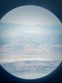 【オドゥンサン統一展望台】望遠鏡から覗く北朝鮮……それはまるで別の星のようだった | パジュ市