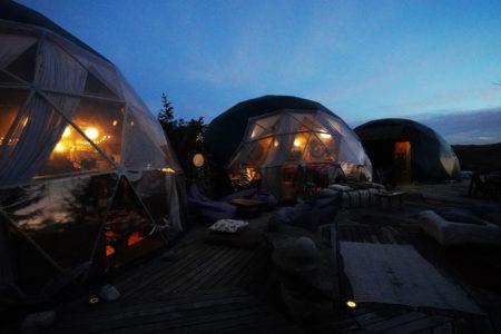 【エコキャンプ】多様なツアーへの拠点となる美しいドーム型テント! | 南パタゴニア